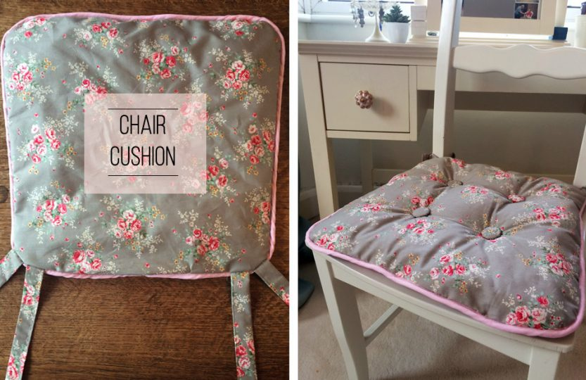Chair cushion DIY