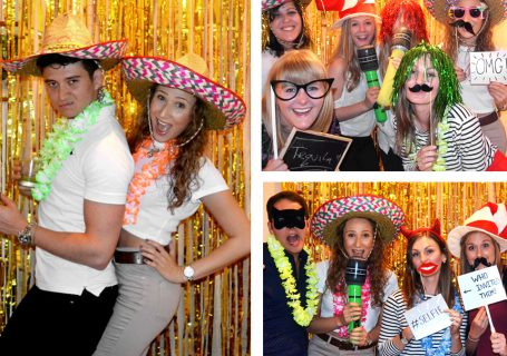 Create your own photo booth at home