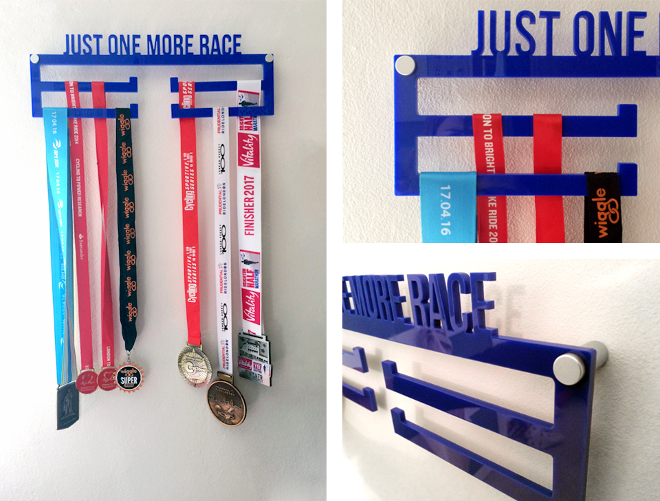 Make your own medal holder DIY