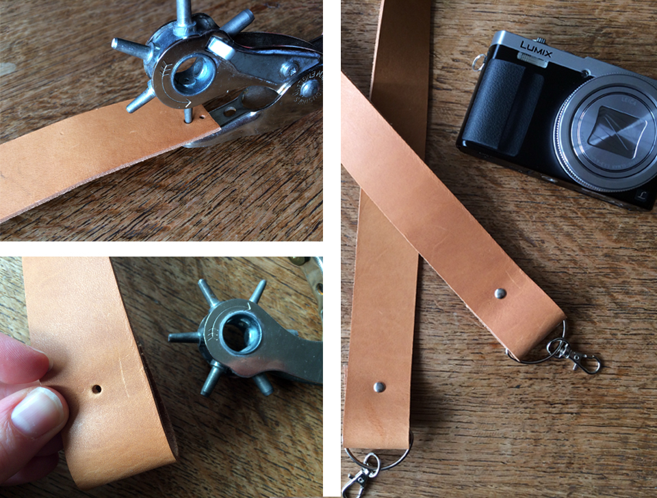 Leather stamping instructions