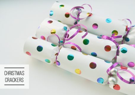 DIY christmas cracker tutorial